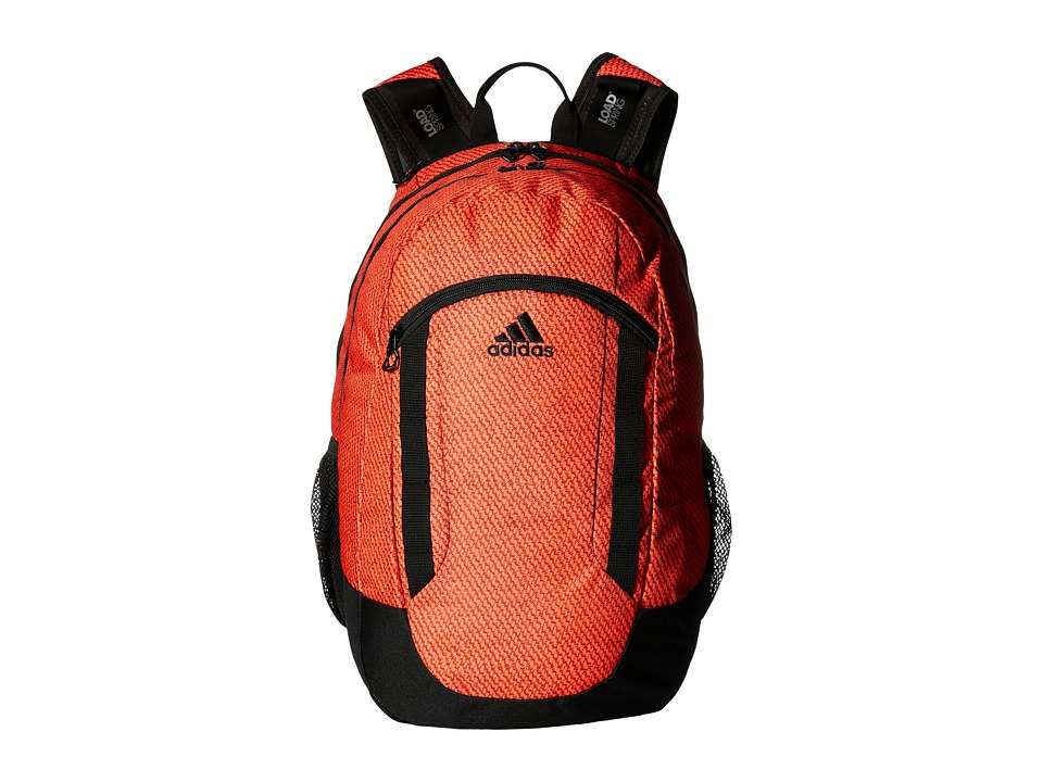 adidas - Excel II Backpack (Twills Solar Red/Black) Backpack Bags