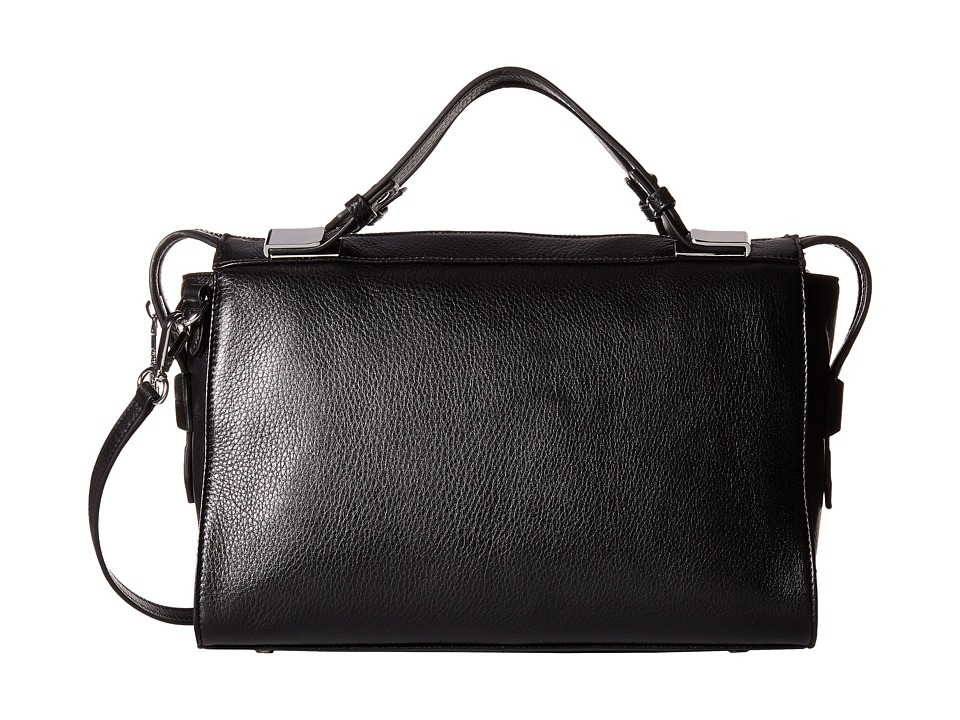 Ivanka Trump - Bedminster Satchel (Black 1) Satchel Handbags