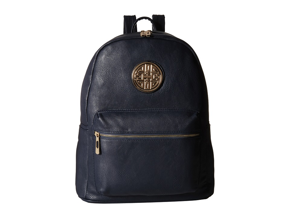 Gabriella Rocha - Camdyn Backpack with Front Pocket (Navy) Backpack Bags