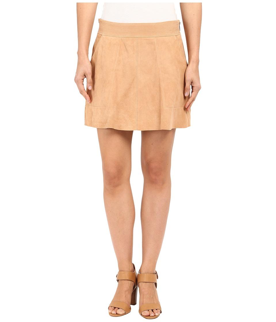 Joie - Graton Suede Skirt (Nectar) Women's Skirt