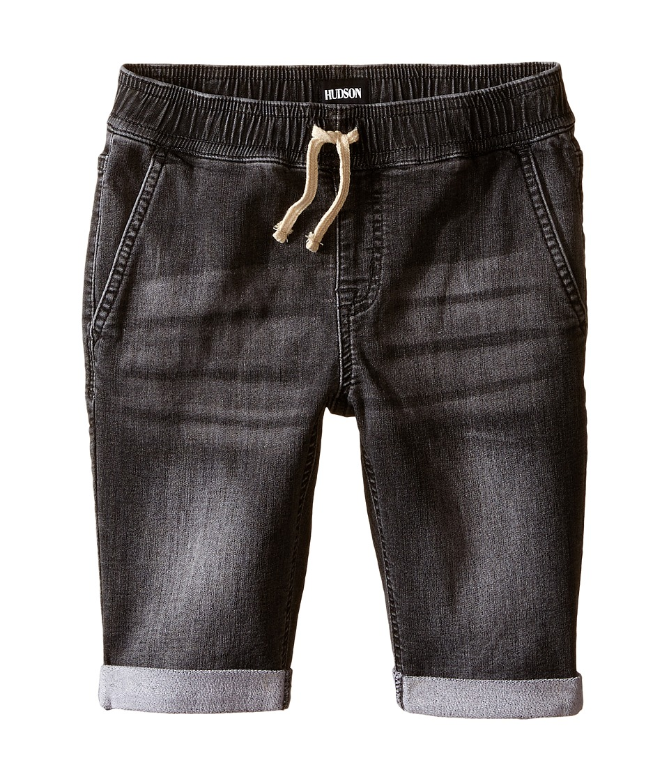 Hudson Kids - Knit Denim Shorts in Graphite (Toddler/Little Kids/Big Kids) (Graphite) Boy's Shorts