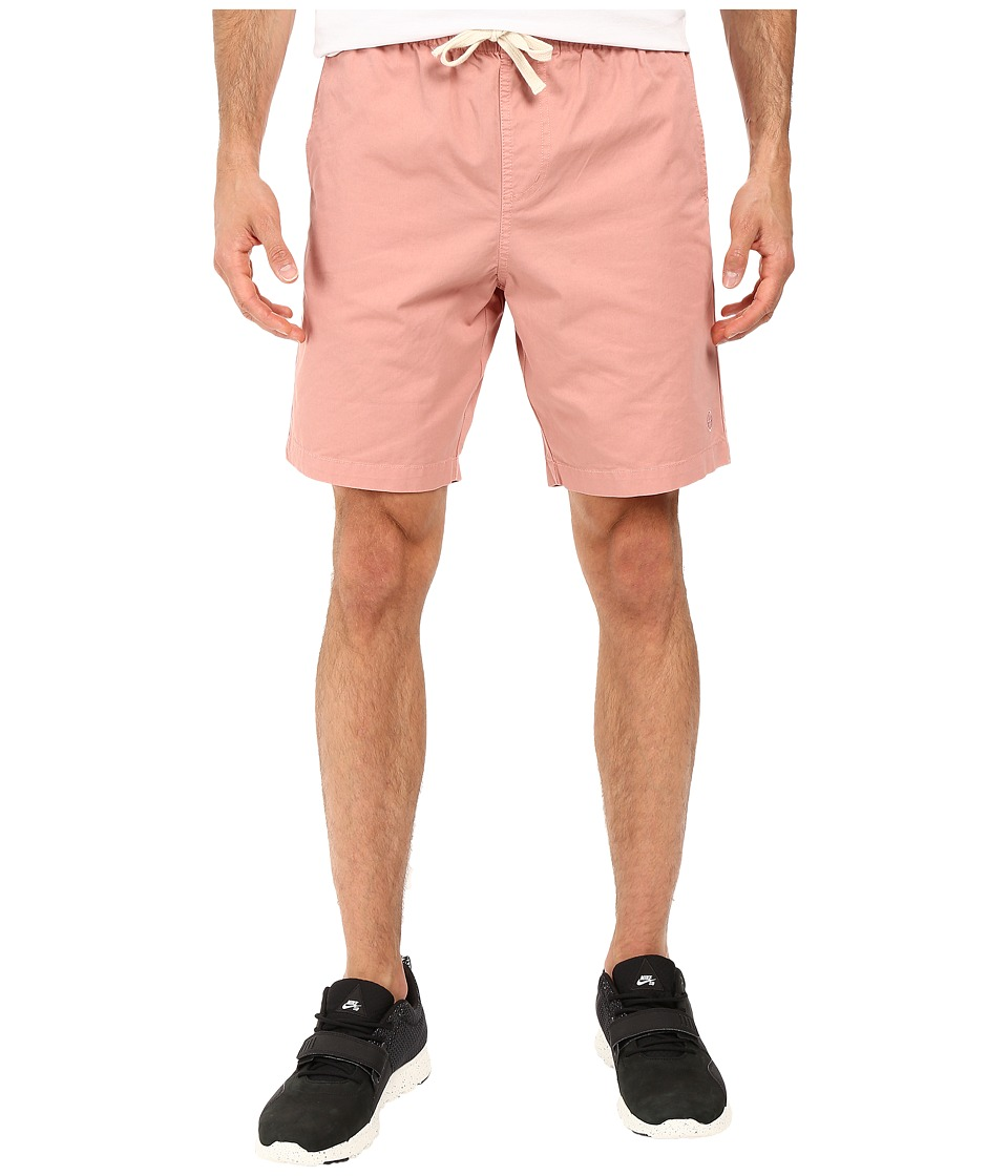 HUF - Sun Daze Easy Shorts (Smoke Pink) Men's Shorts