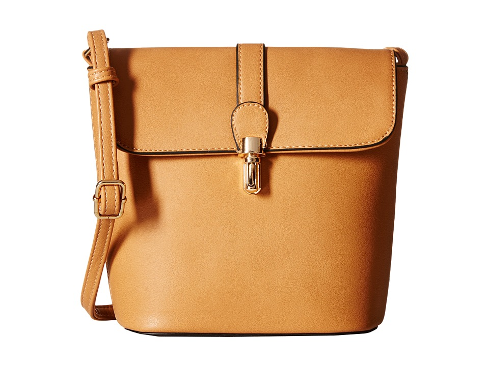 Gabriella Rocha - Andrea Crossbody Purse (Camel) Cross Body Handbags
