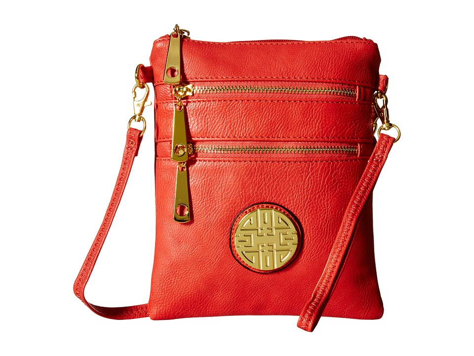 Gabriella Rocha - Sharon Mini Crossbody Purse (Coral) Cross Body Handbags