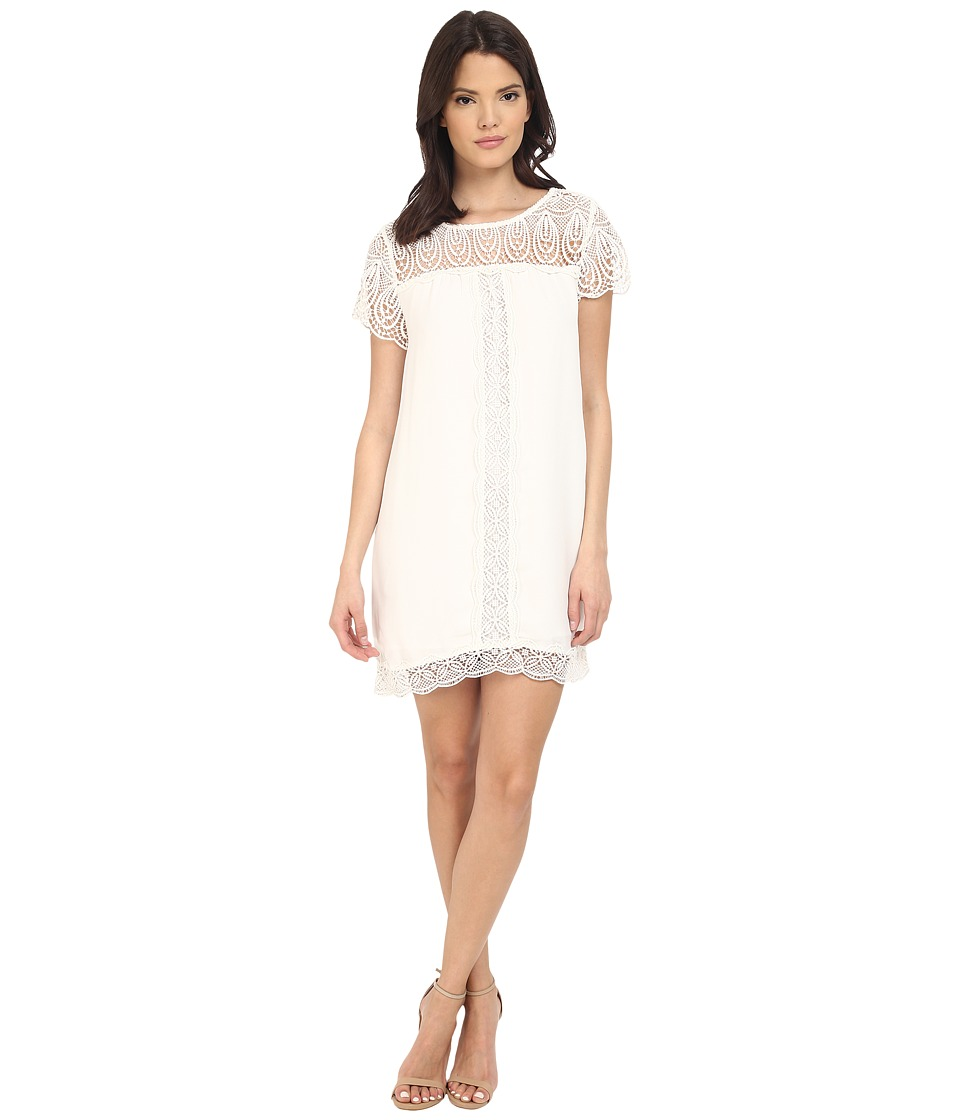 Joie Kastra Lace Dress (Porcelain) Women