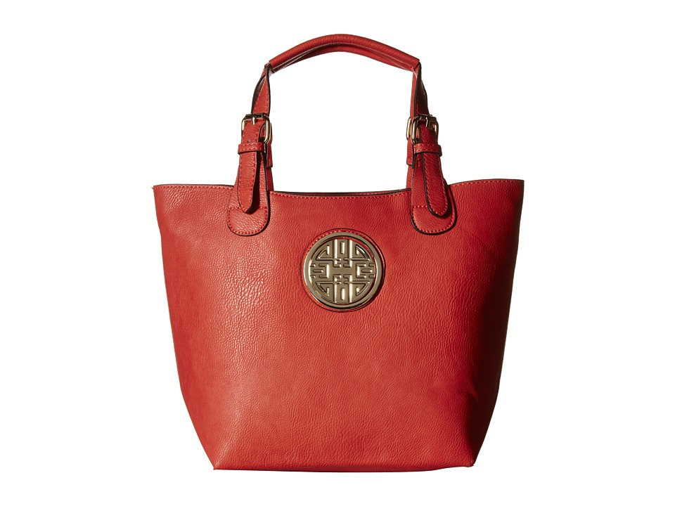 Gabriella Rocha - Amelia 2-in-1 Tote with Inside Purse (Coral) Tote Handbags