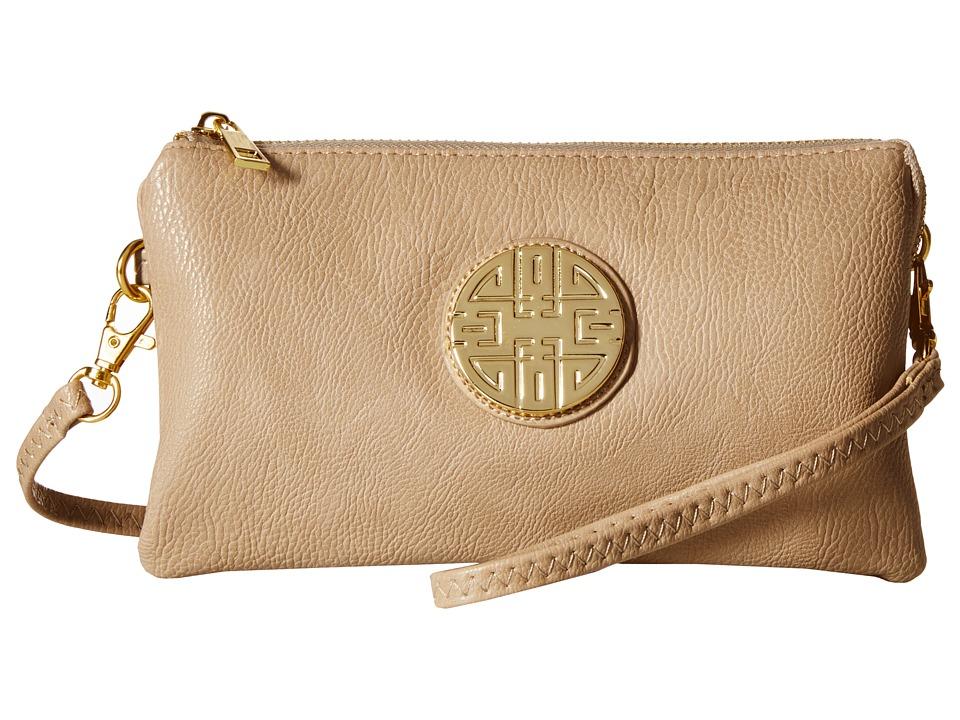 Gabriella Rocha - Piper Crossbody Purse (Light Beige) Cross Body Handbags