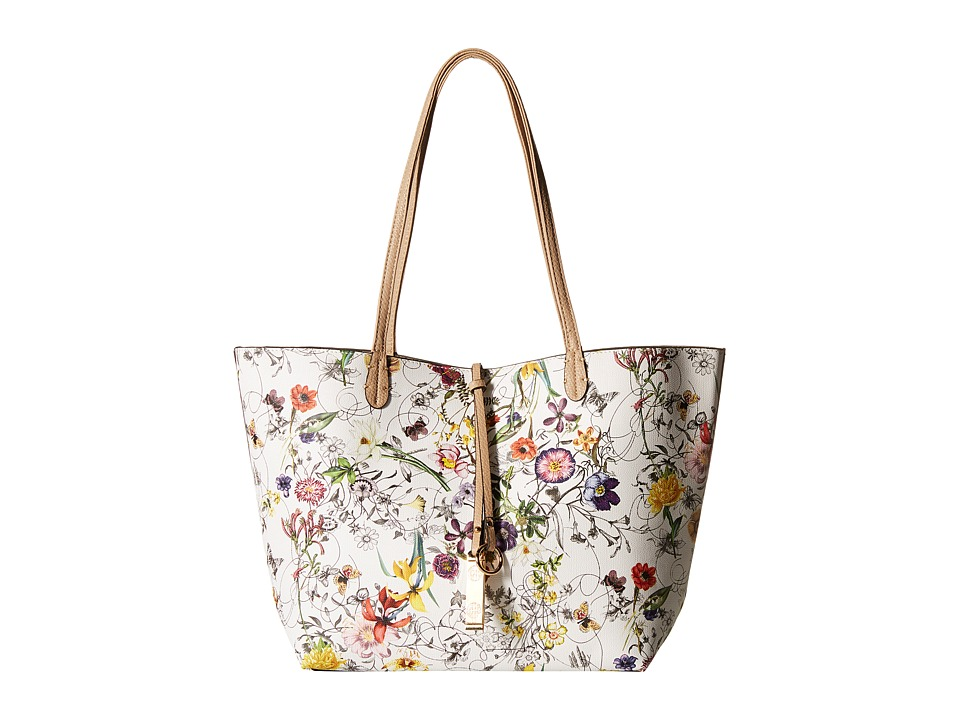 Gabriella Rocha - Jamie 2-in-1 Tote with Inside Purse (White Floral) Tote Handbags