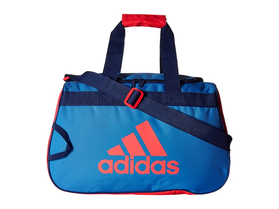 adidas - Diablo Small Duffel (Ray Blue/Shock Red/Unity Ink Purple) Duffel Bags
