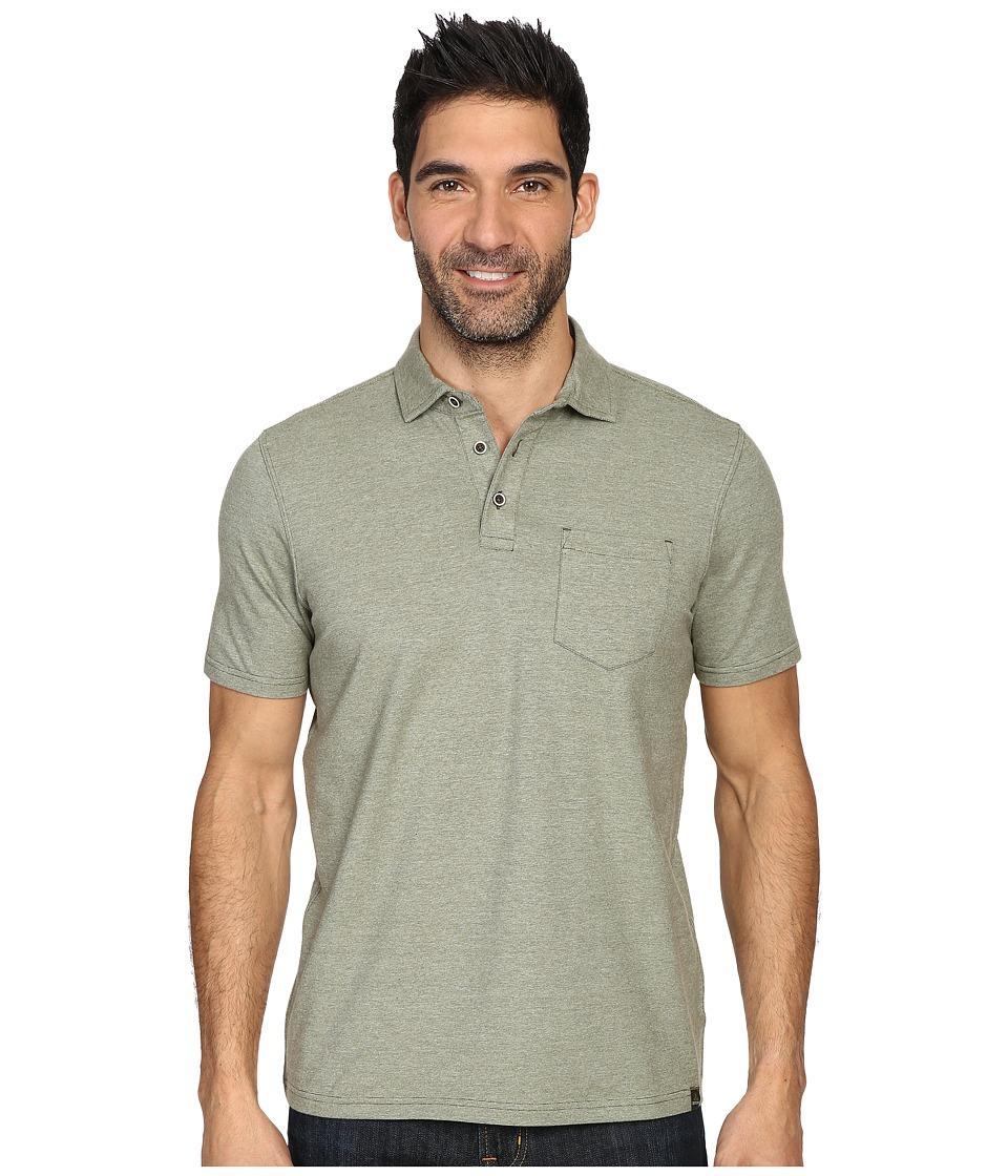 Prana - Brock Polo (Cargo Green) Men's Clothing
