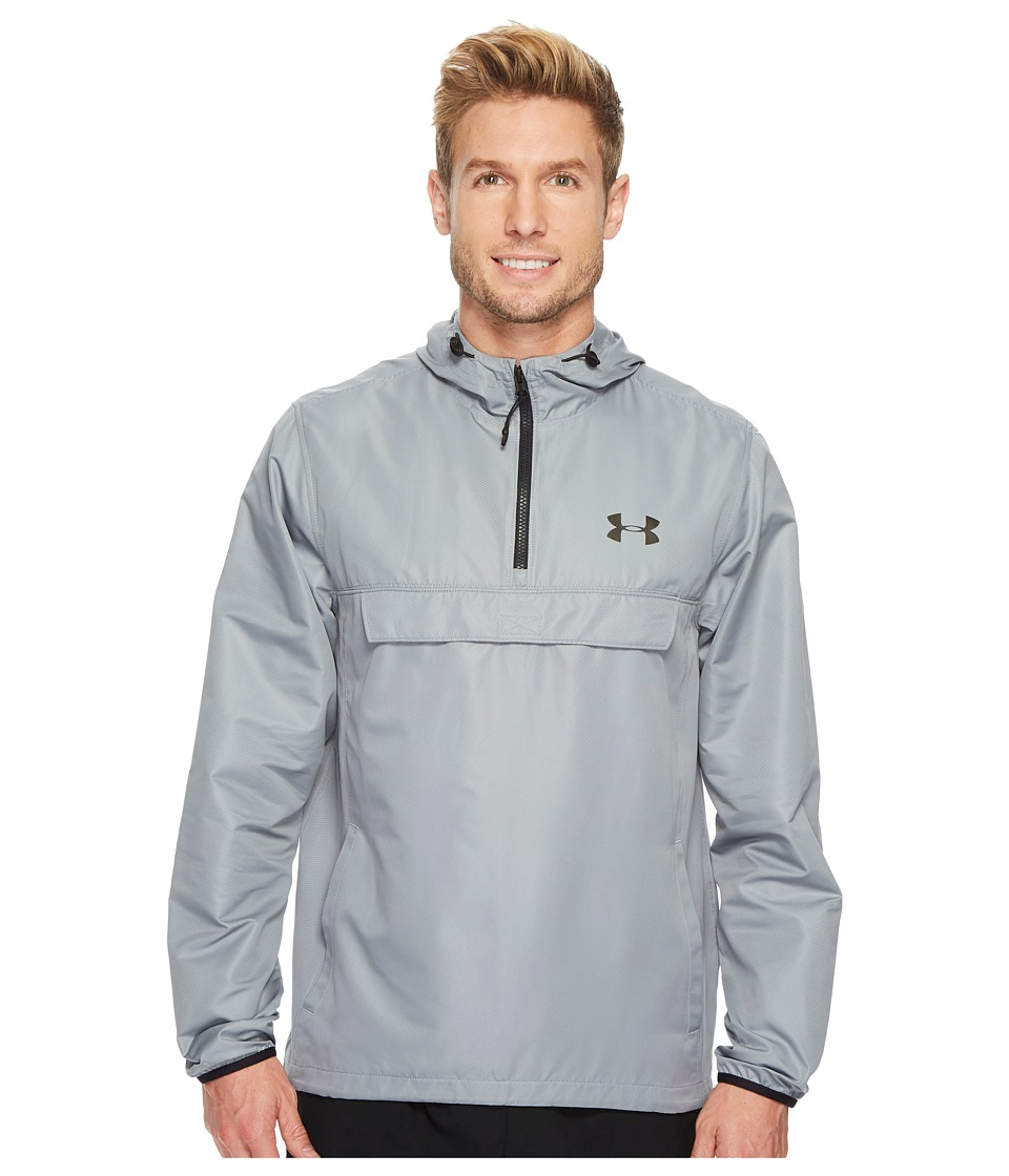 Under Armour - Sportstyle Anorak (Steel/Steel/Black) Men's Coat