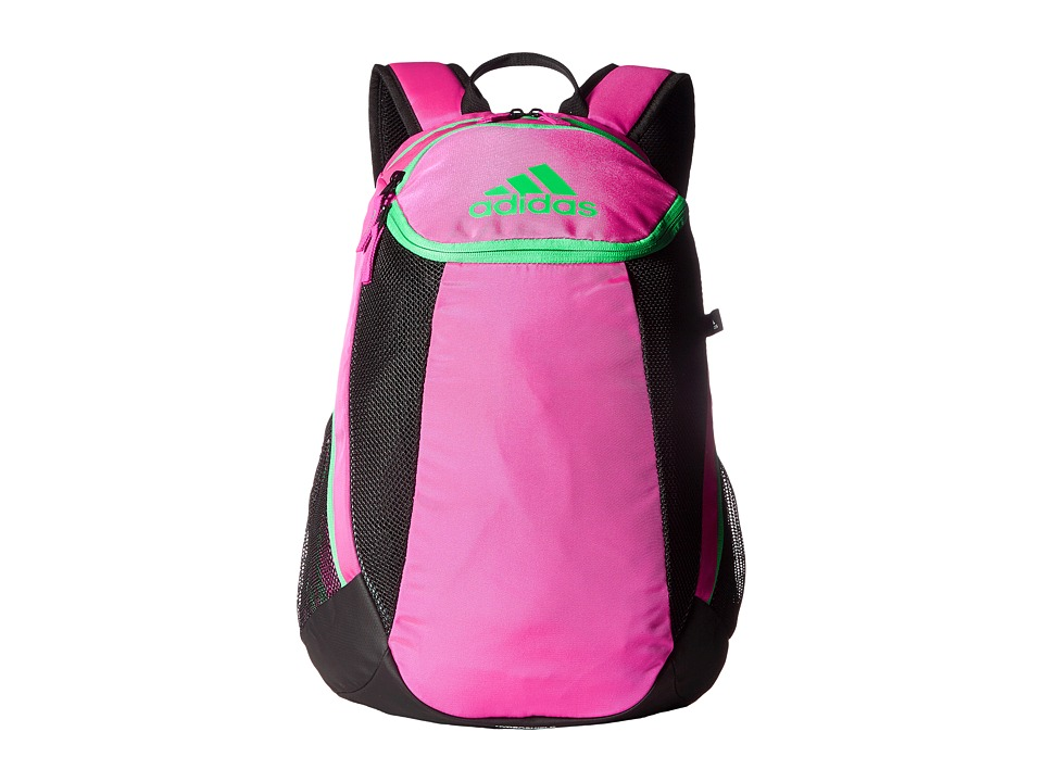 adidas - Condivo Team Backpack (Shock Pink/Bright Green) Backpack Bags