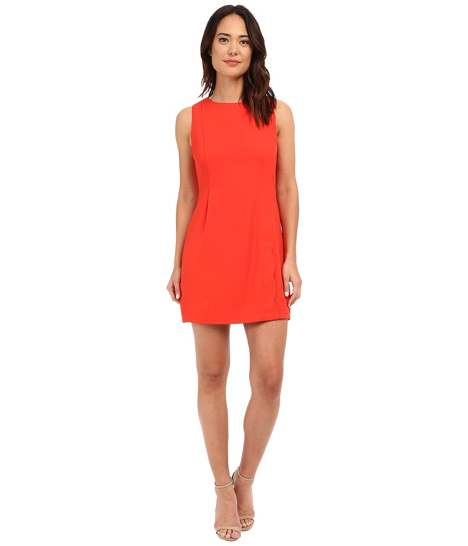 Brigitte Bailey - Piacenza Sheath Dress (Dark Coral) Women's Dress
