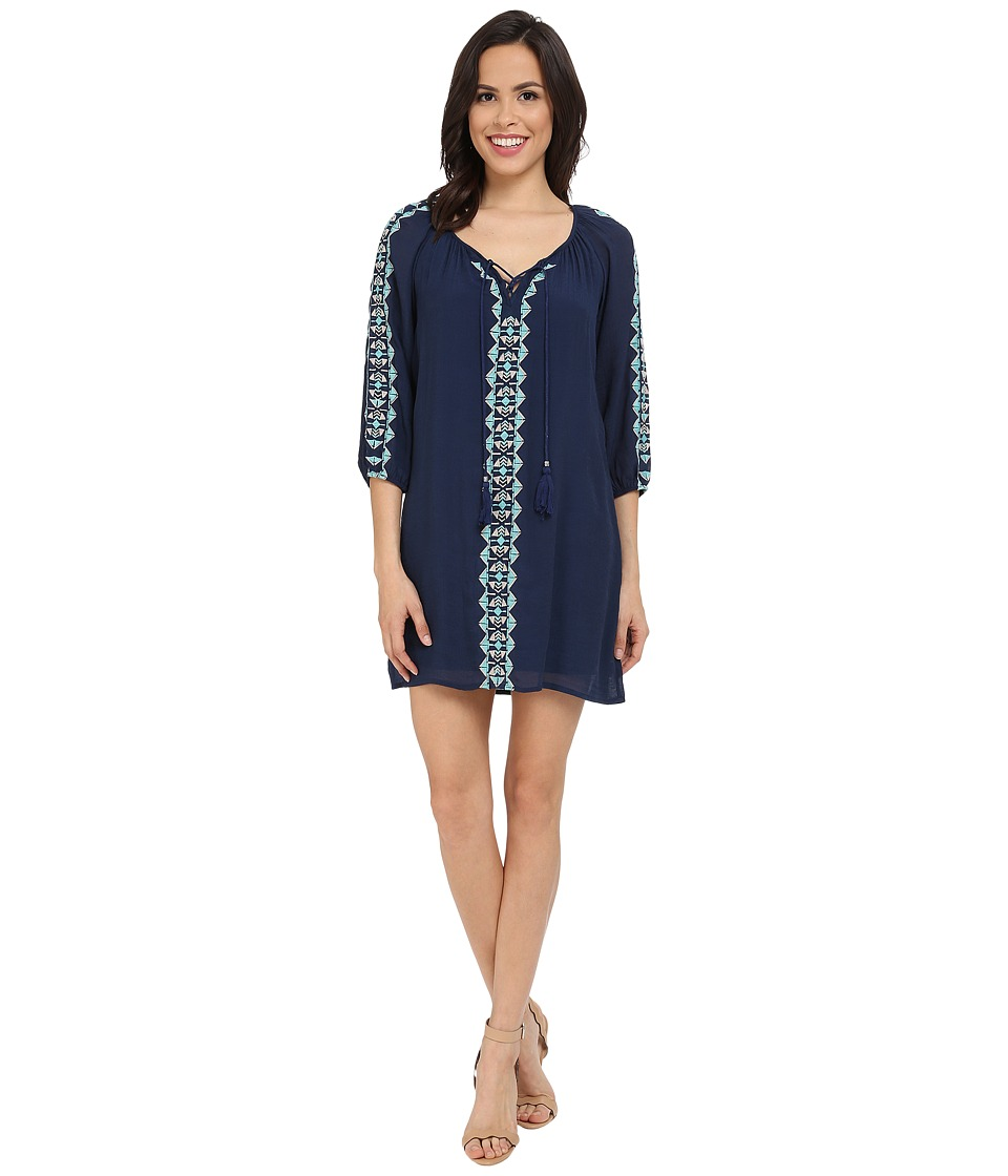 Brigitte Bailey - Sassari Dress (Navy) Women's Dress