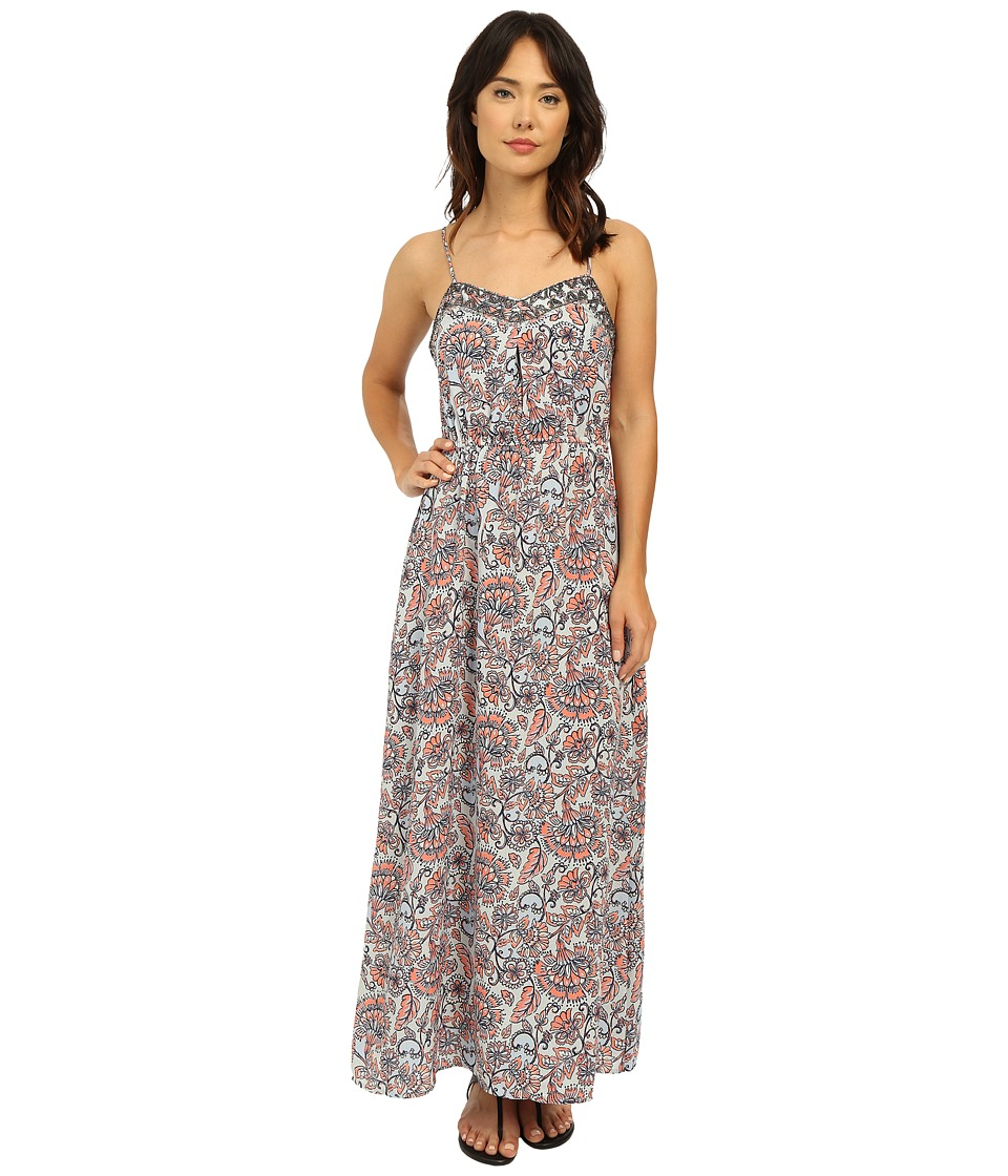 Brigitte Bailey - Lazio Maxi Dress (Blue Paisley) Women's Dress