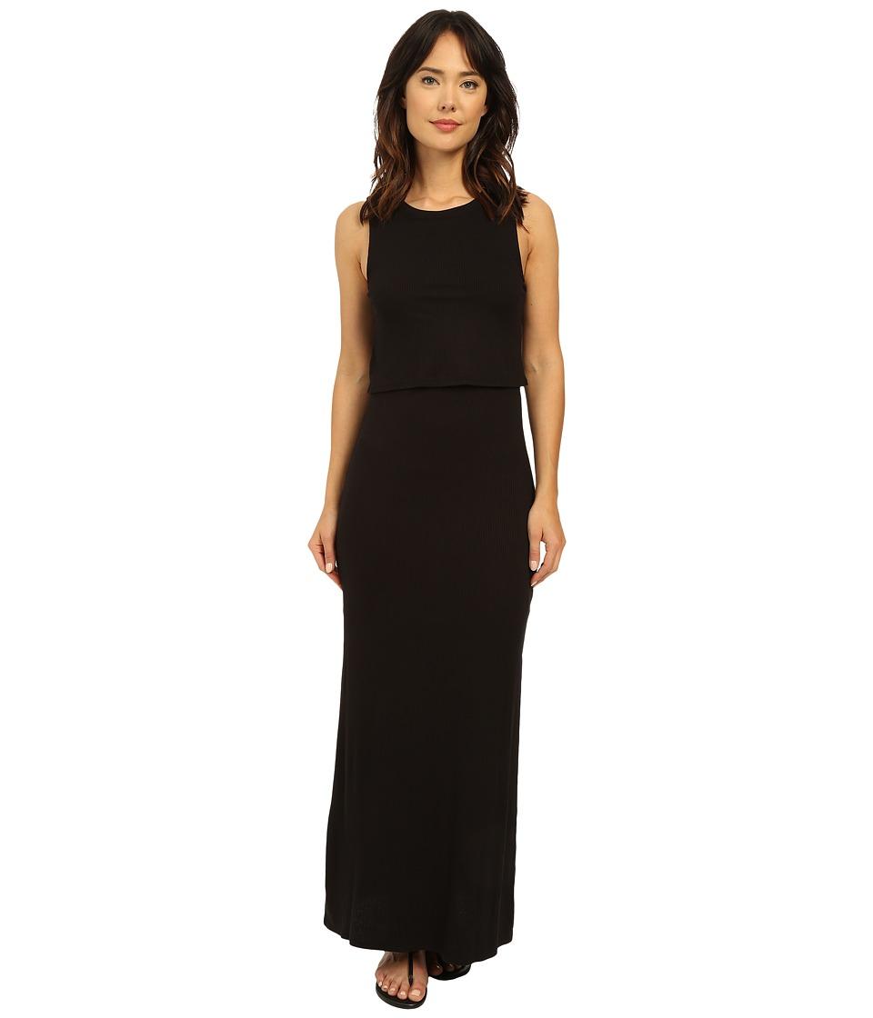 Brigitte Bailey - Piedmont Flouncy Maxi Dress (Black) Women's Dress