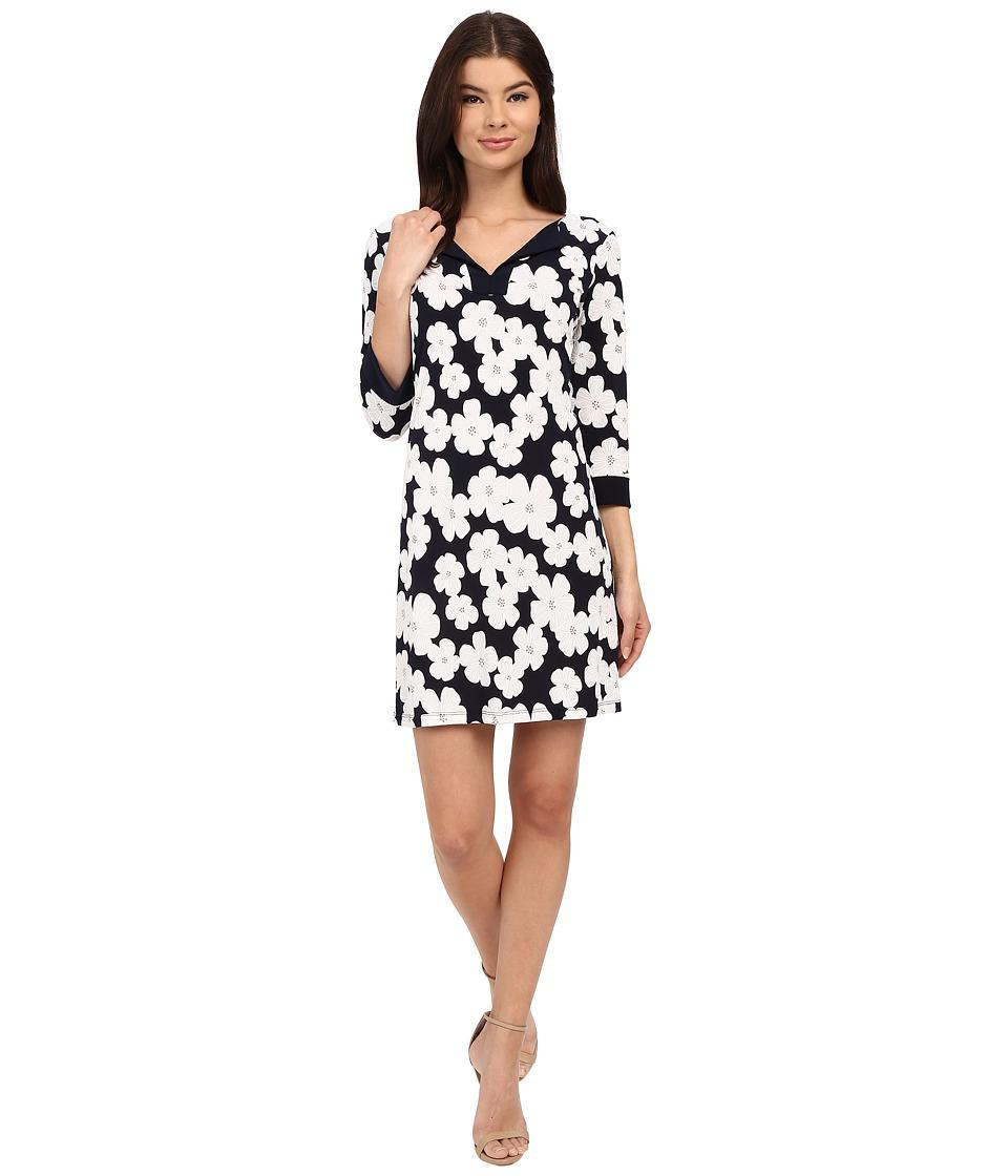 Christin Michaels - Alida Dress (Navy) Women's Dress