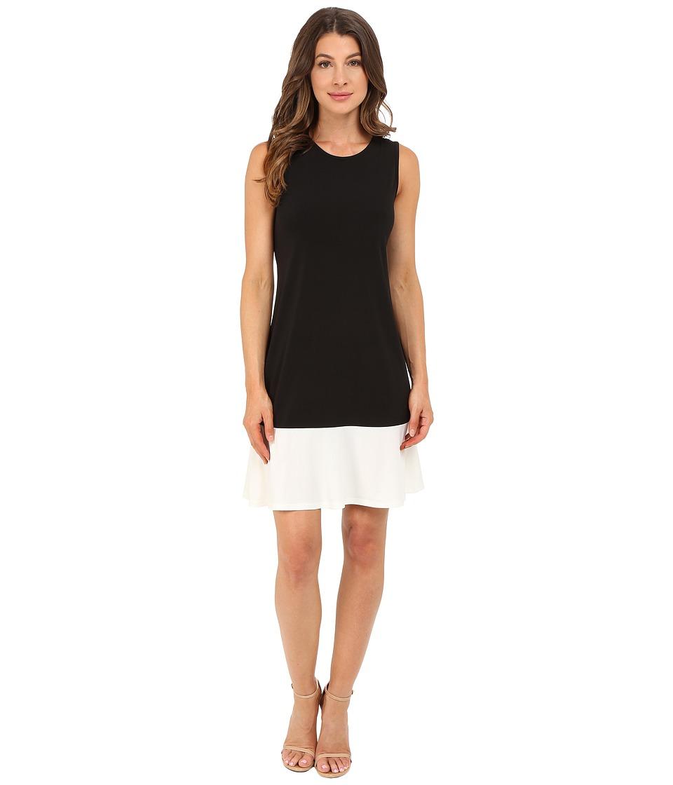 Christin Michaels - Asta Dress (Black/White) Women's Dress