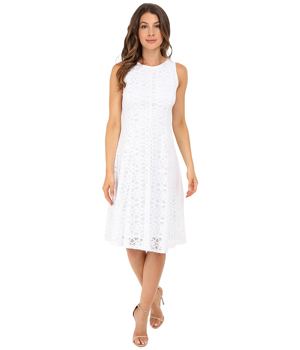 Christin Michaels Annalise Dress (White) Women
