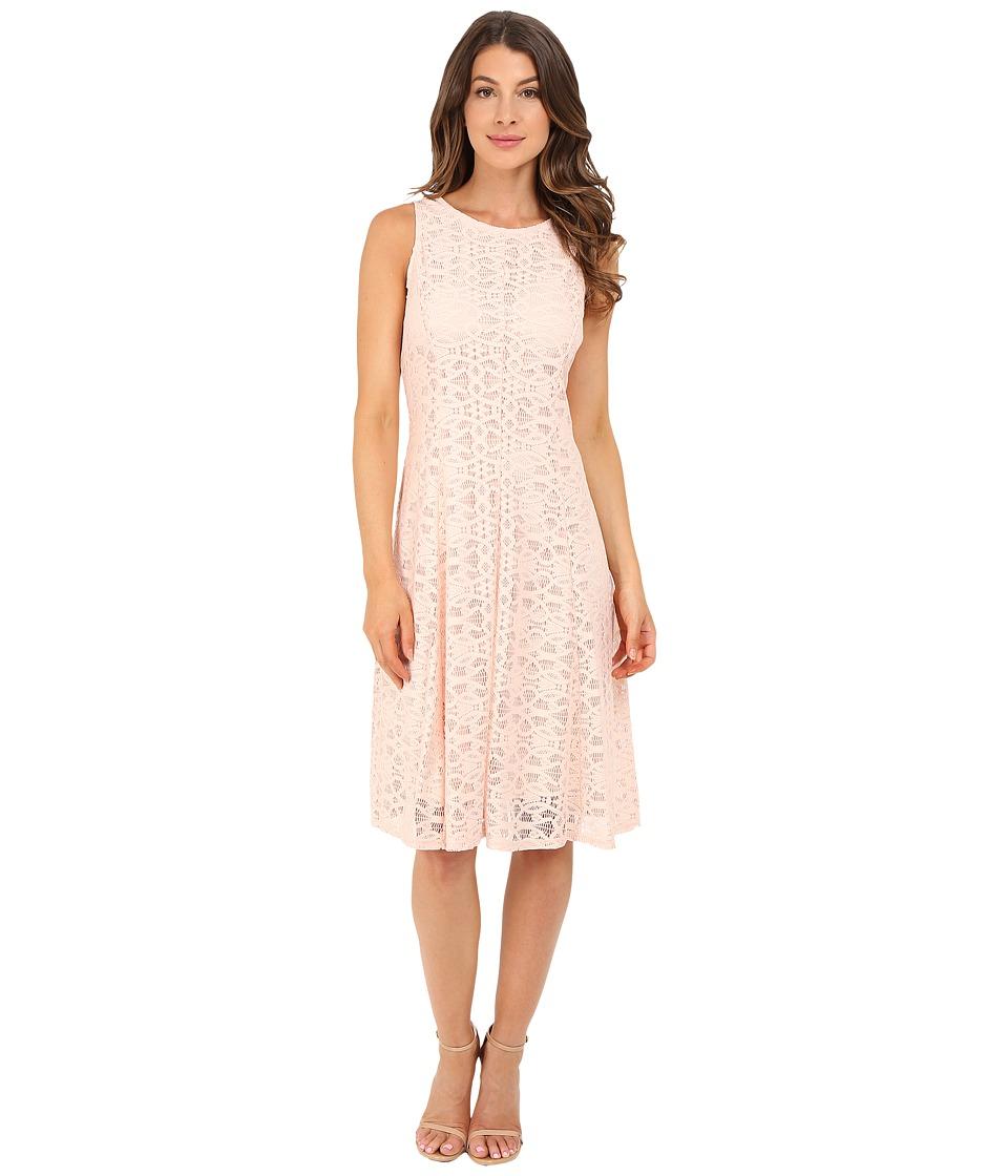 Christin Michaels Annalise Dress (Peach) Women