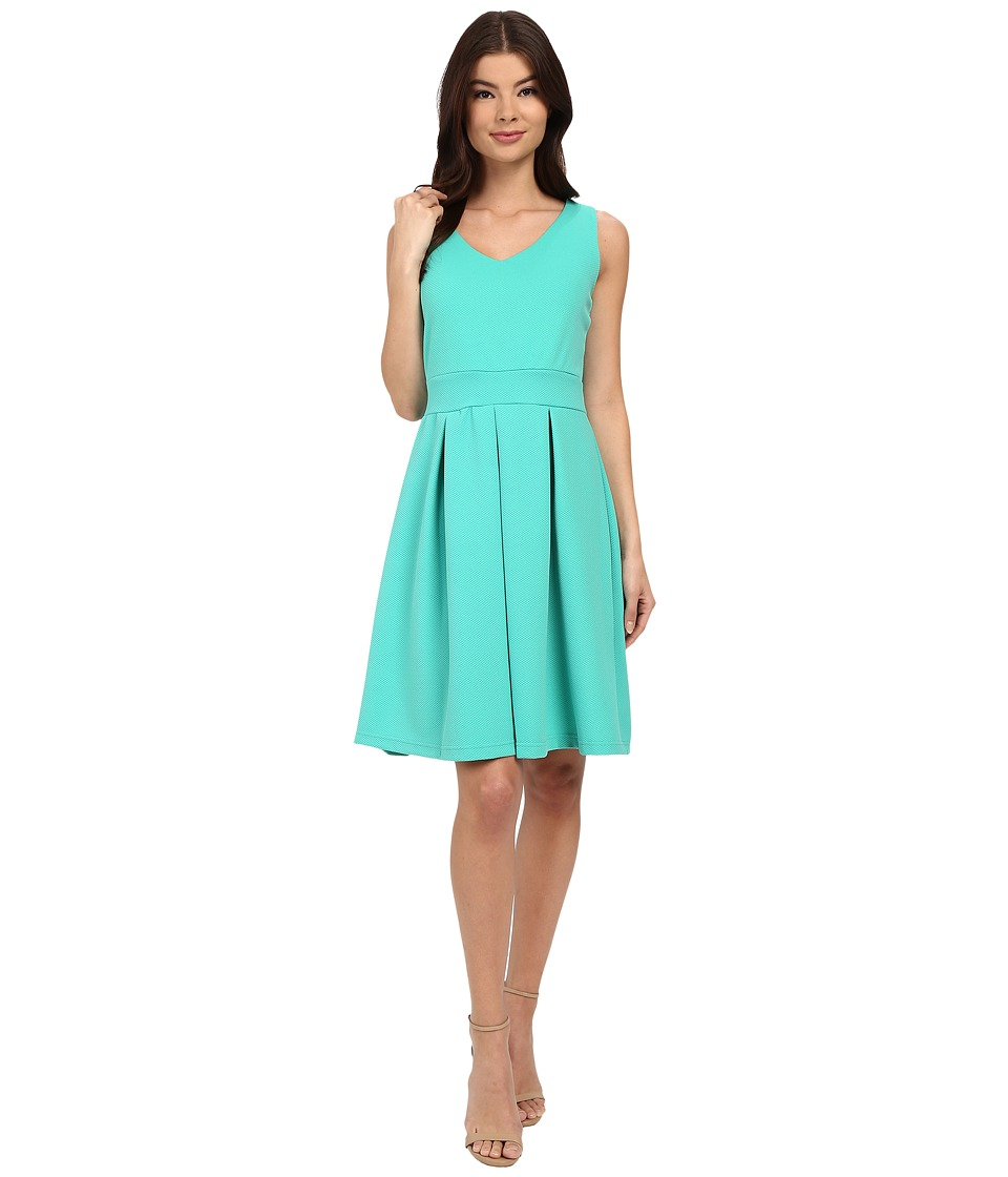 Christin Michaels Aksel Dress (Teal) Women
