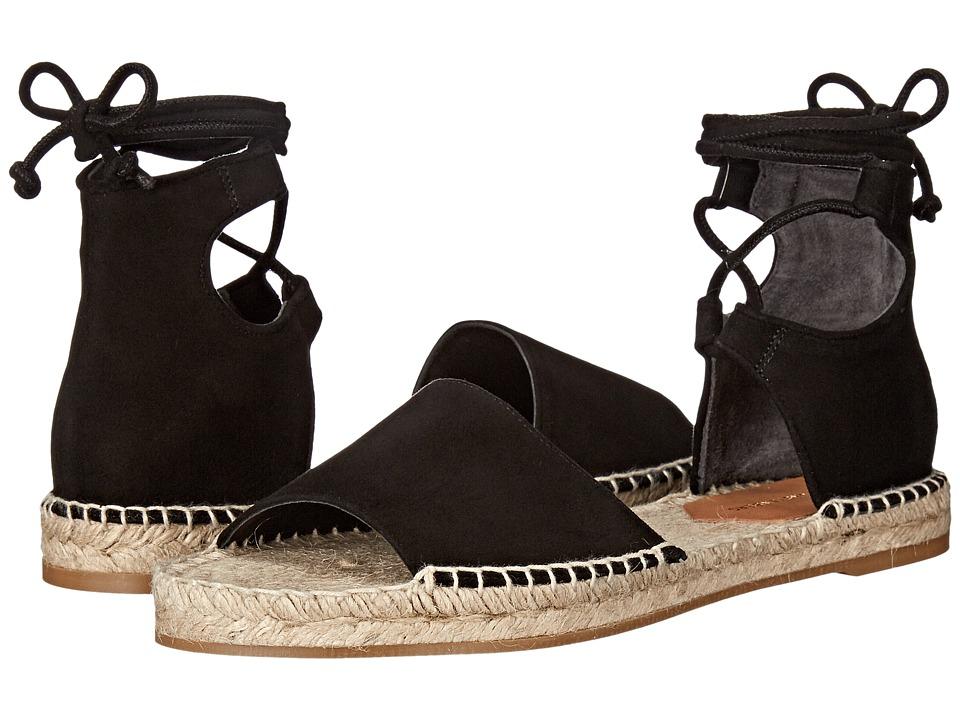 Diane von Furstenberg - Daroka (Black Kid Suede) Women's Shoes