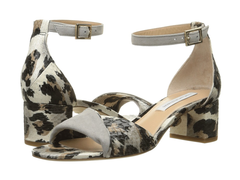 Diane von Furstenberg - Florence (Snow Cheetah Kid Suede) Women's Shoes