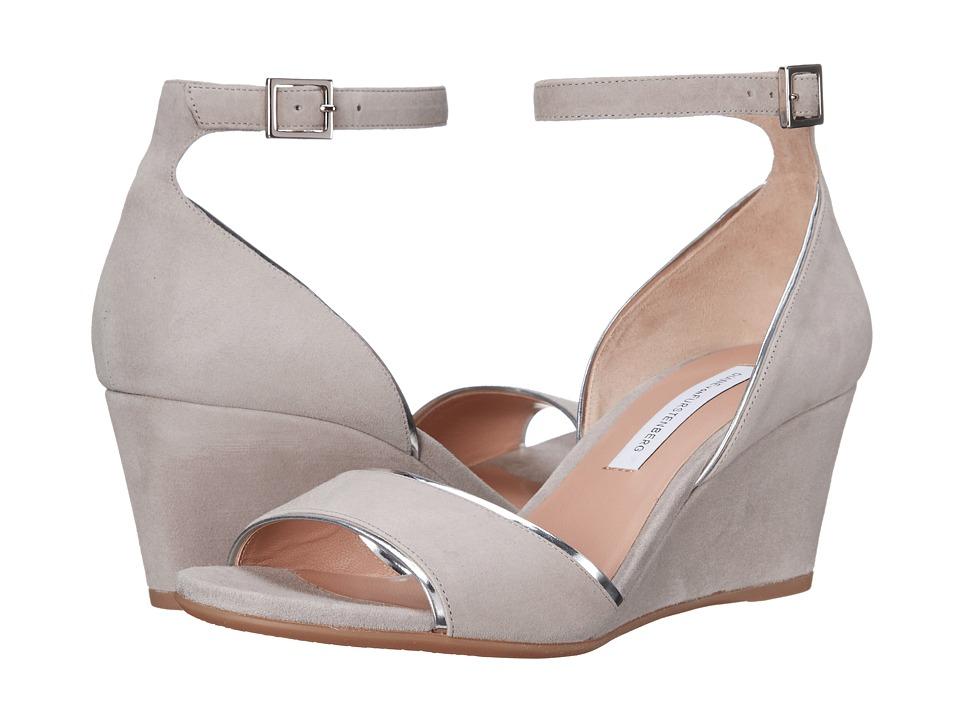 Diane von Furstenberg - Asti (Taupe Kid Suede/Mirror) Women's Shoes