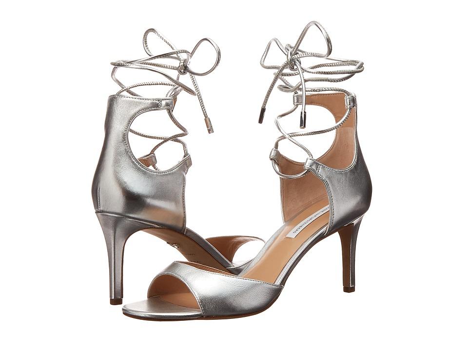 Diane von Furstenberg - Rimini (Silver Metallic Sheep) Women's Shoes