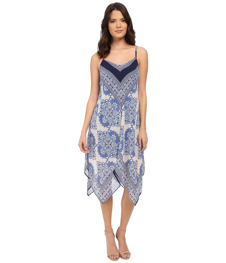 Christin Michaels - Campania Dress (Navy) Women's Dress