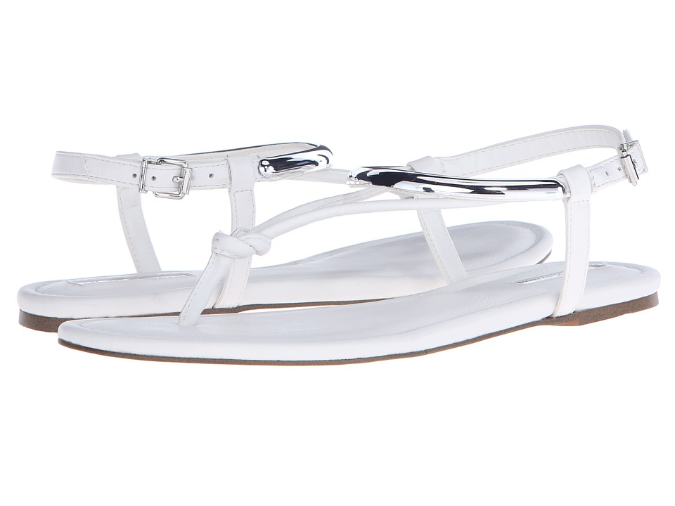 BCBGeneration - Frida (White Crosta Leather) Women