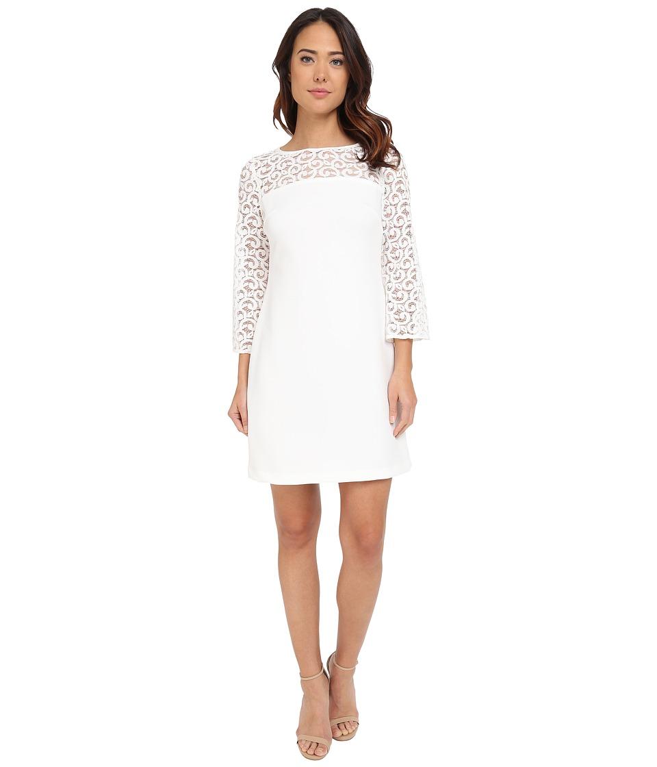 Christin Michaels Caserta Dress (Ivory) Women