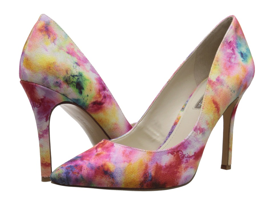 BCBGeneration - Treasure (Water Color Canvas) High Heels