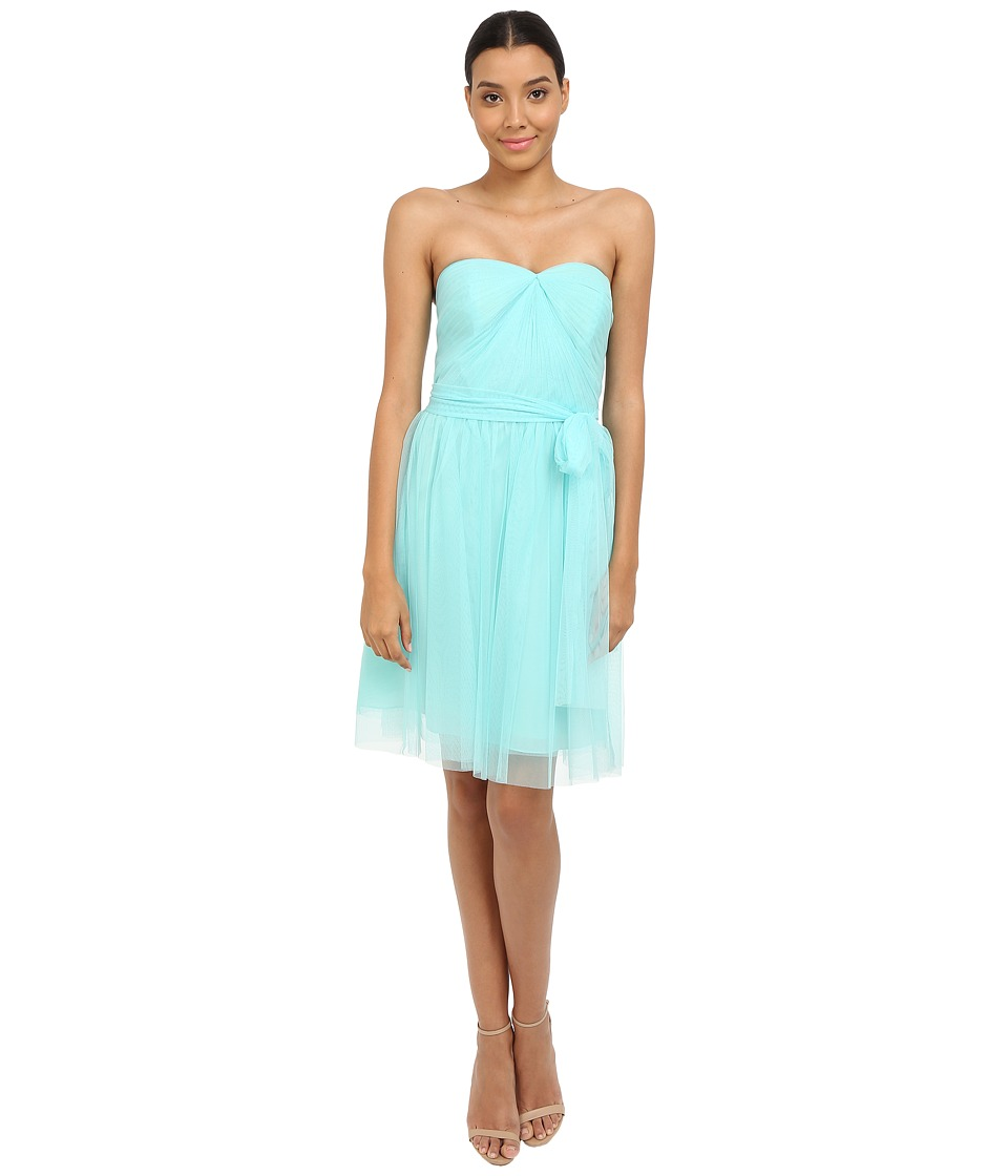 rsvp - Pleated Ciena Bow Dress (Mint) Women's Dress
