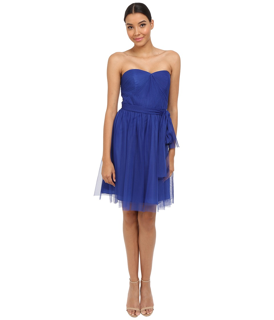 rsvp Pleated Ciena Bow Dress (Royal) Women
