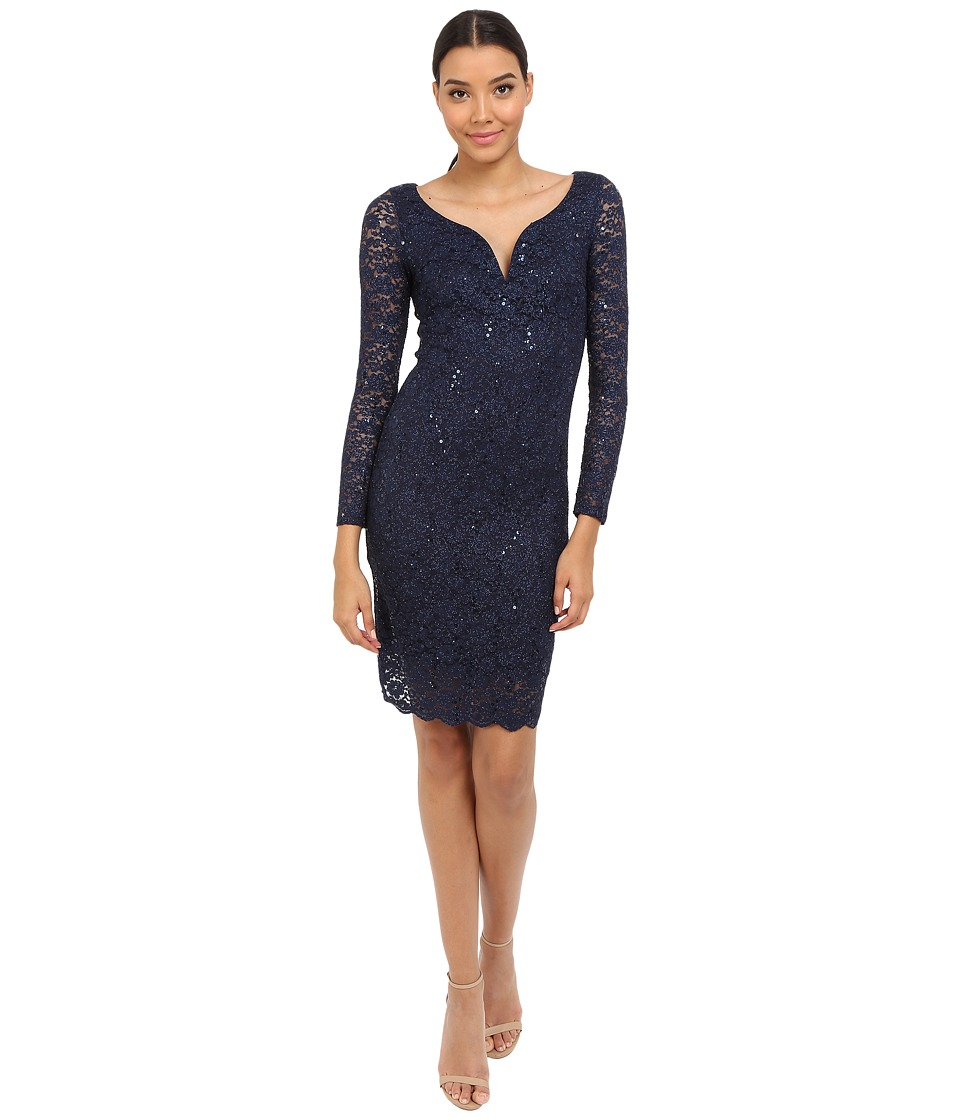 rsvp - Matera Short Dress (Navy) Women's Dress