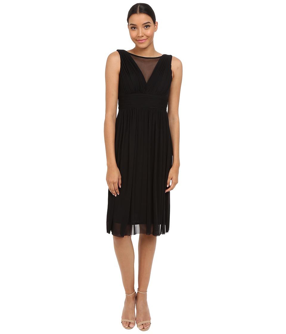 rsvp Tivoli Shirtdress w/ Shirring (Black) Women
