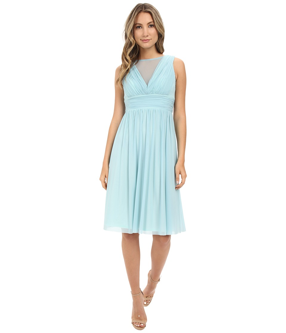 rsvp - Tivoli Shirtdress w/ Shirring (Blue) Women's Dress