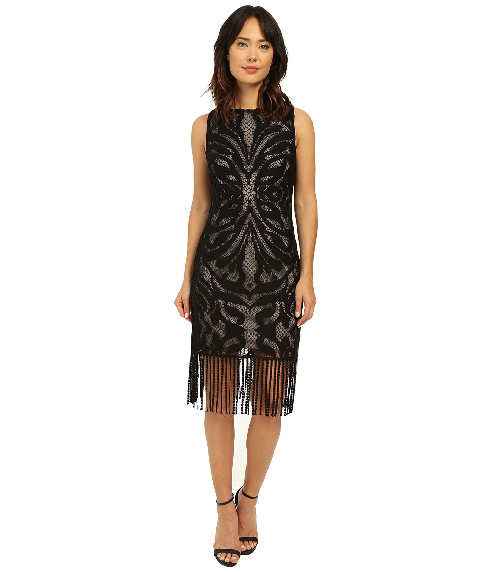 rsvp Rhone Fringe Lace Dress (Black) Women