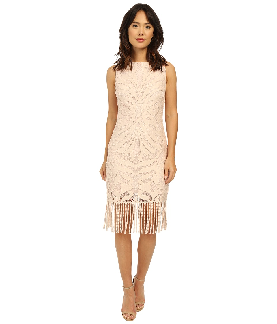 rsvp Rhone Fringe Lace Dress (Dust Pink) Women