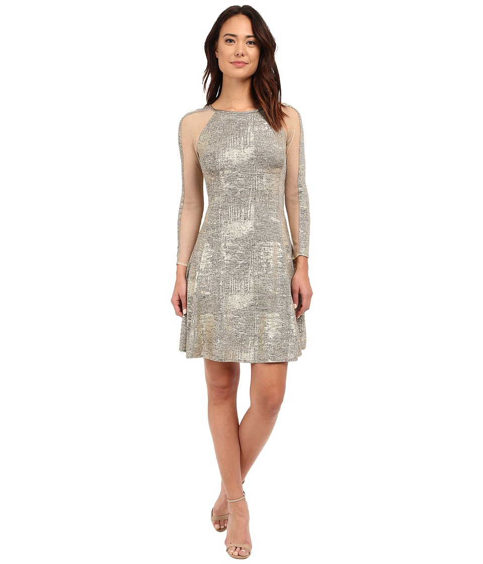 rsvp - Loire Metallic Dress (Gold) Women's Dress