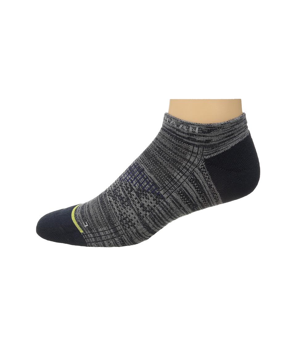 Cole Haan - ZeroGrand Random Feed (Navy) Men's Crew Cut Socks Shoes