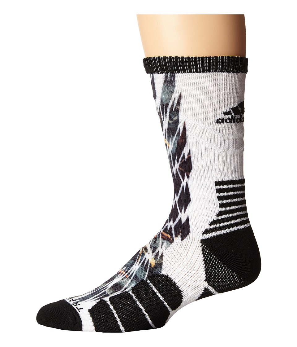 adidas - Uncaged Crew (Eagle Shockweb) Crew Cut Socks Shoes