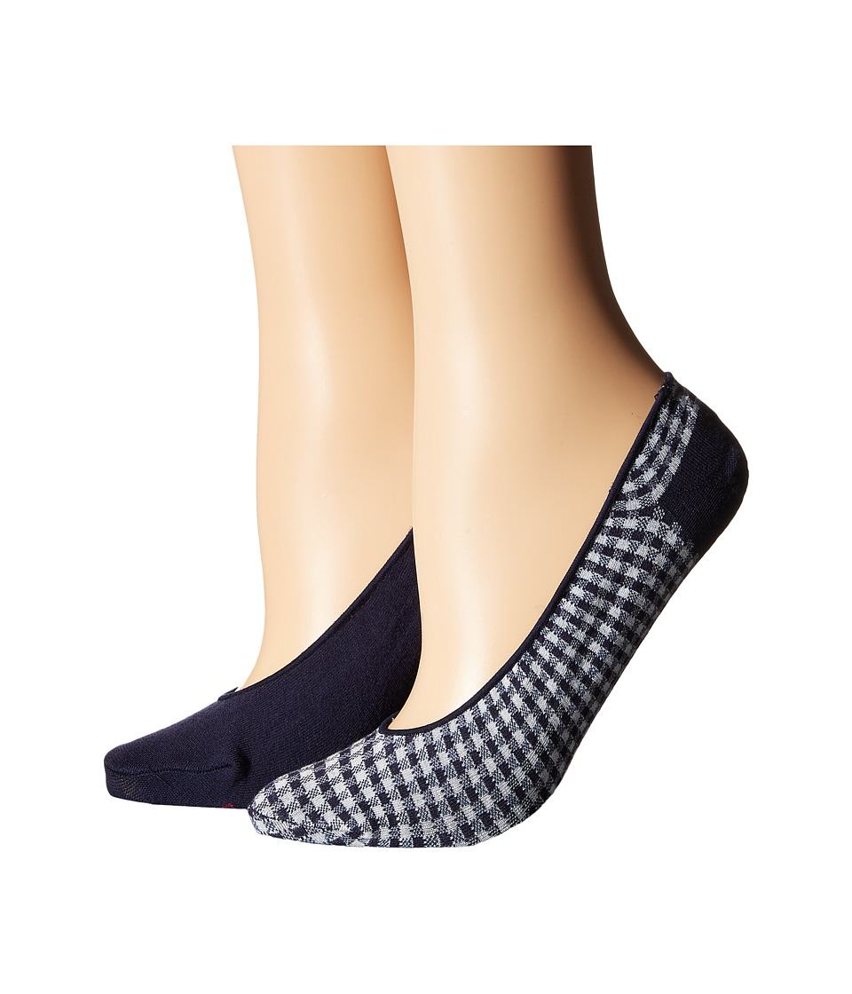 Cole Haan - 2-Pack Gingham Liner (Assorted) Women's Crew Cut Socks Shoes