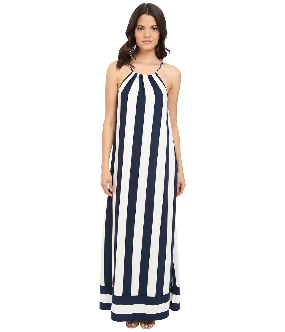Splendid - Capistan Rugby Stripe Maxi (Navy/White) Women's Dress