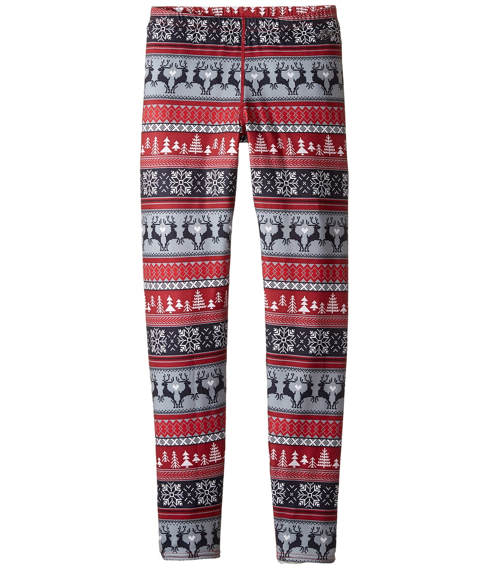Hot Chillys Kids - MTF Print Tights (Little Kids/Big Kids) (Holiday Fever) Kid's Casual Pants