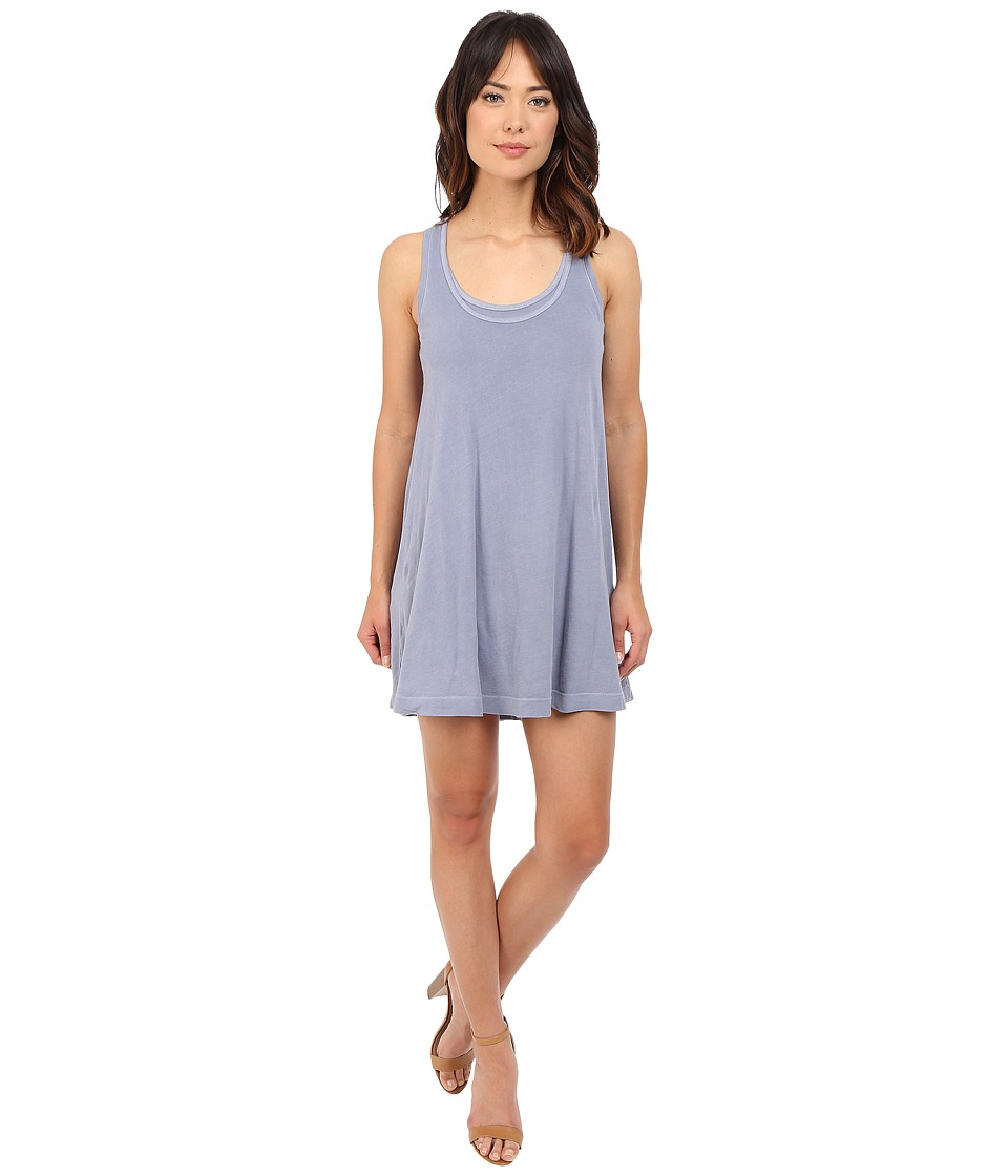 Splendid - Vintage Whisper Dress (Vintage Blue Ash) Women's Dress