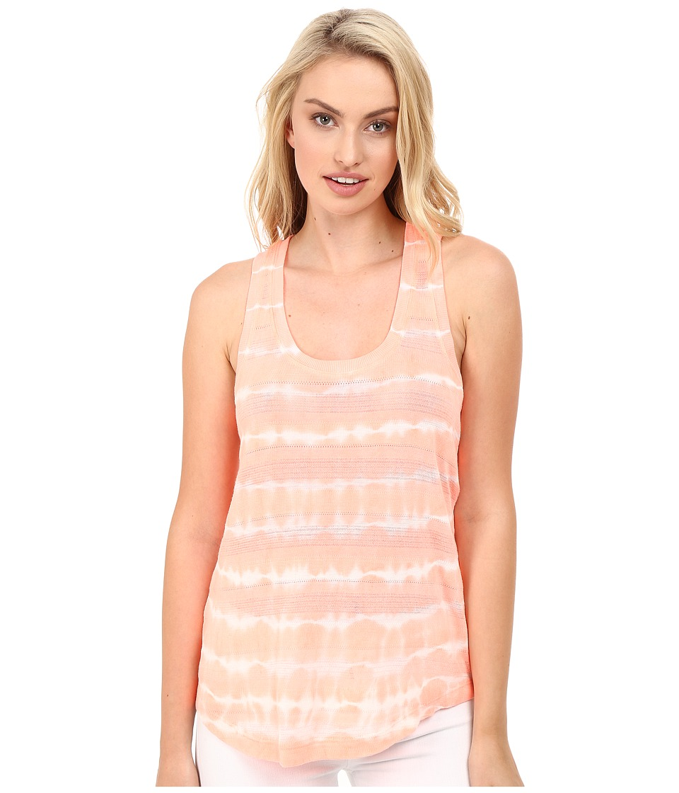 Splendid - Treatment Stripe Tank Top (Sunkissed Pink) Women's Sleeveless
