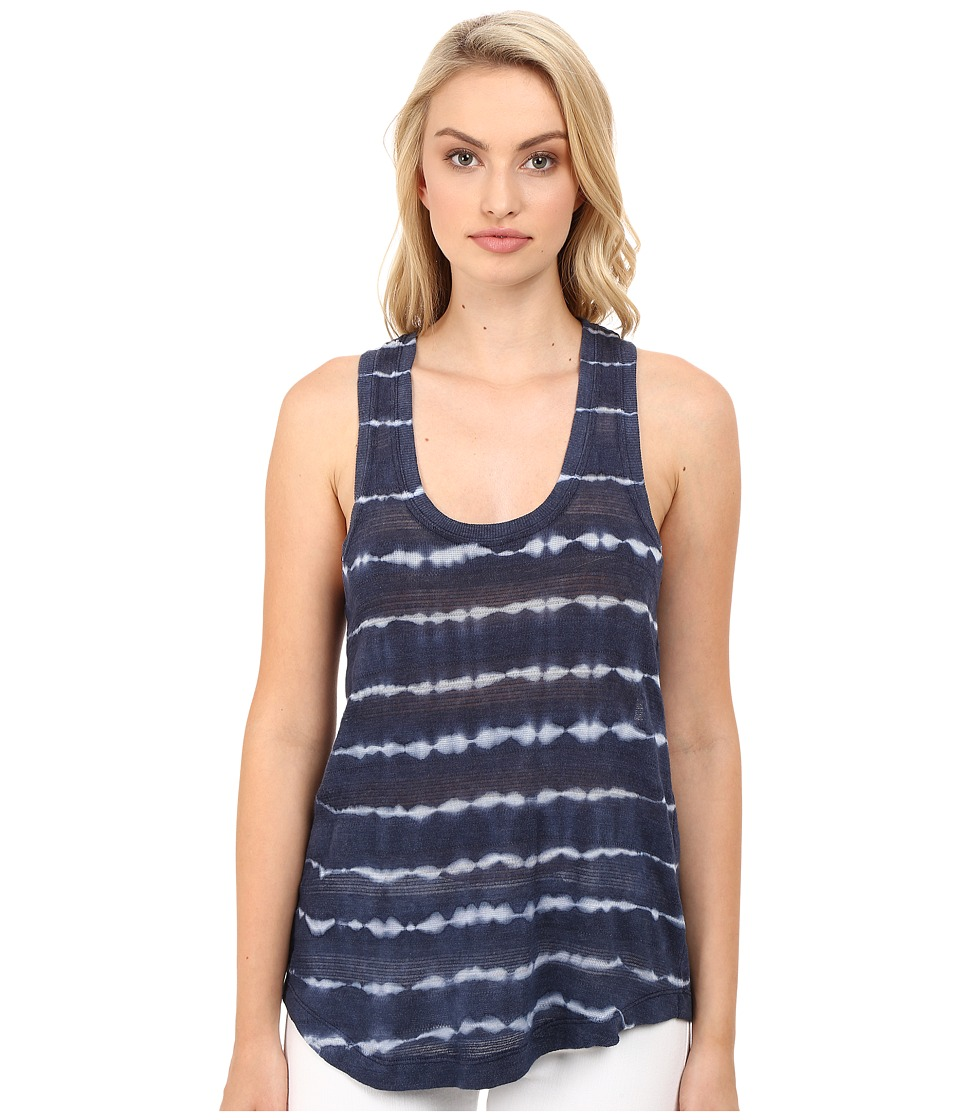 Splendid - Treatment Stripe Tank Top (Navy) Women's Sleeveless