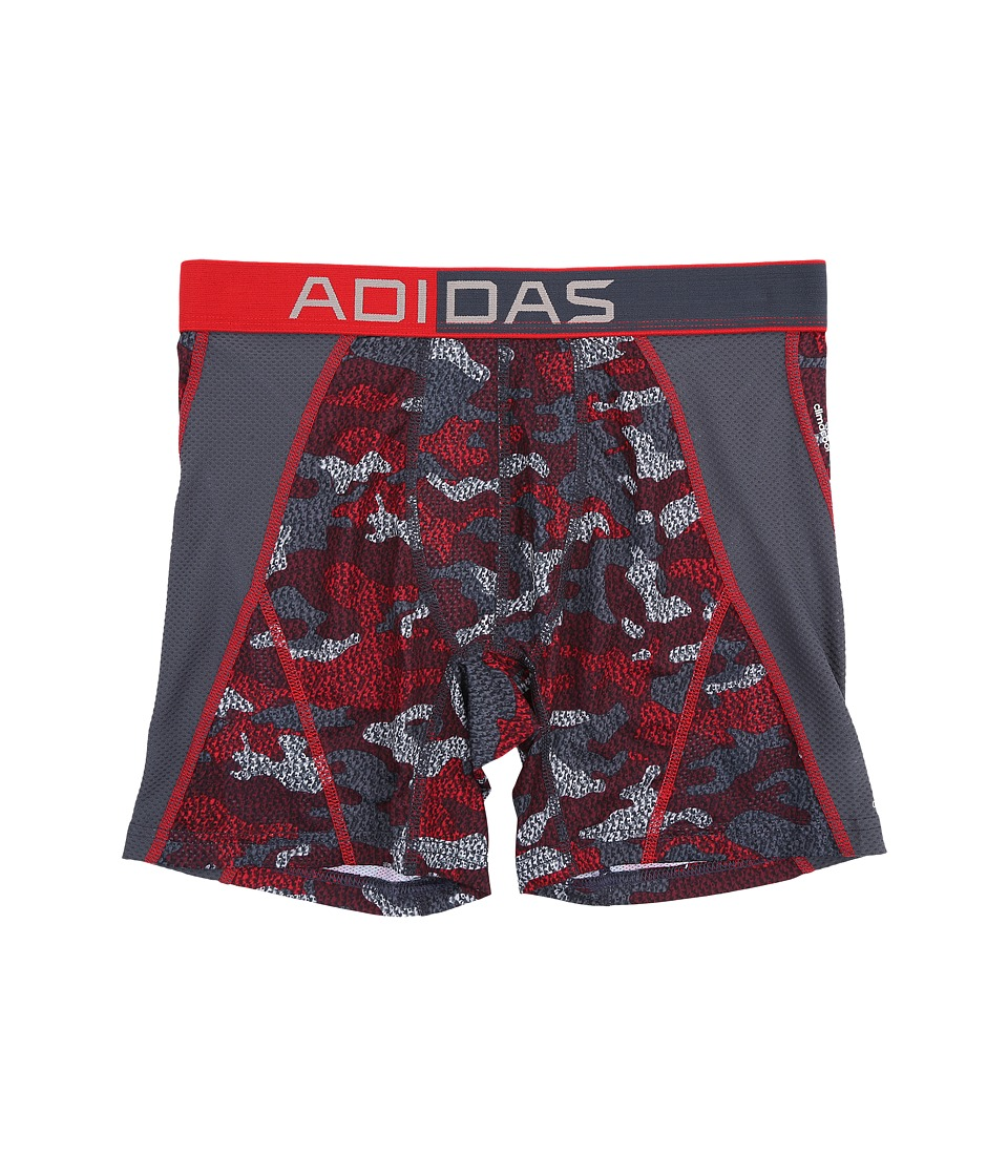 adidas - Climacool Mesh Graphic Single Boxer Brief (Scarlet Prime Camo/Deepest Space) Men's Underwear
